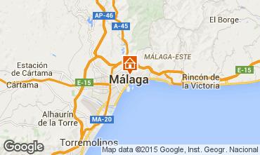 Mapa M�laga Apartamentos 80527