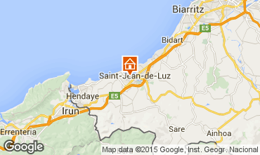 Mapa Saint Jean de Luz Apartamentos 22188