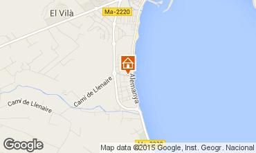 Mapa Puerto Pollensa Apartamentos 63957