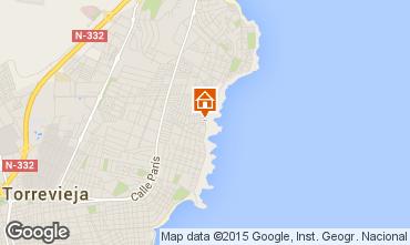 Mapa Torrevieja Apartamentos 97853