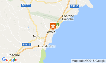 Mapa Avola Vivenda 115324