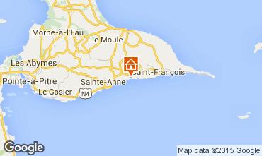 Mapa Sainte Anne (Guadalupe) Apartamentos 101800
