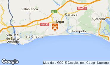 Mapa Islantilla Vivenda 64975