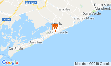 Mapa Jesolo Apartamentos 75928