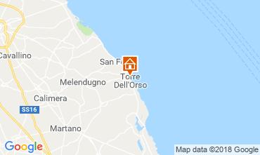 Mapa Torre dell'Orso Apartamentos 108860