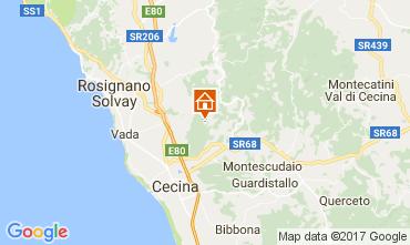 Mapa Cecina Casa de turismo rural/Casa de campo 110817