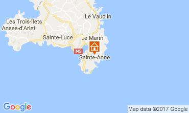 Mapa Sainte Anne (Martinique) Vivenda 107589
