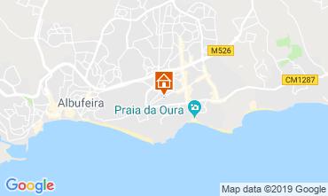 Mapa Albufeira Apartamentos 119614