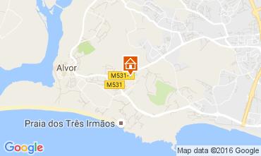 Mapa Alvor Apartamentos 106427