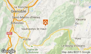 Mapa Chamrousse Apartamentos 36119