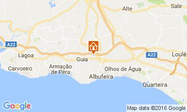 Mapa Albufeira Vivenda 58250