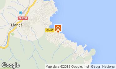 Mapa Llan�a Apartamentos 85331