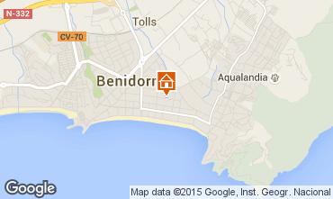 Mapa Benidorm Apartamentos 81478
