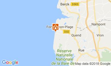 Mapa Quend Praia Mobil Home 107542