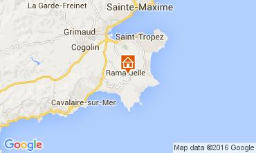 Mapa Ramatuelle Casa de turismo rural/Casa de campo 104481