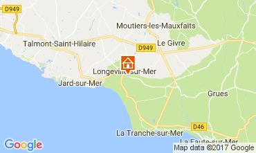 Mapa Longeville sur Mer Vivenda 112665