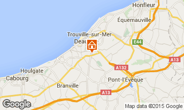 Mapa Deauville Mobil Home 63650