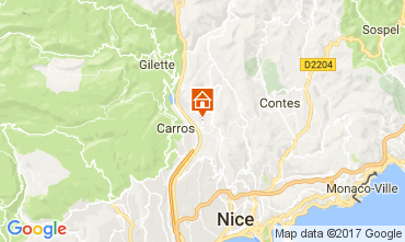 Mapa Nice Apartamentos 112133