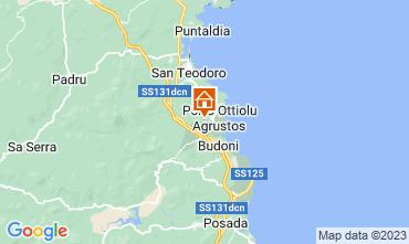 Mapa Budoni Apartamentos 113467