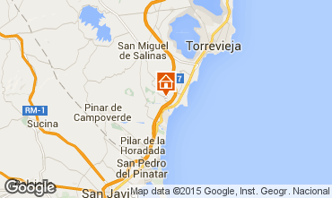 Mapa Torrevieja Casa 91117