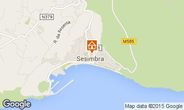 Mapa Sesimbra Apartamentos 96739