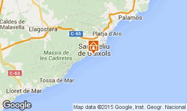 Mapa Playa d'Aro Apartamentos 55194