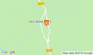 Mapa Les Menuires Estúdio 117573