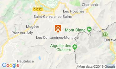 Mapa Les Contamines Montjoie Chalé 923