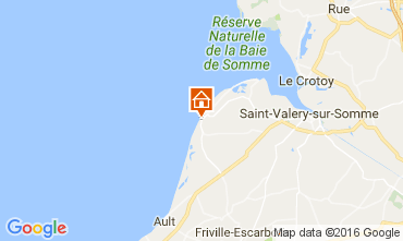 Mapa Cayeux-sur-Mer Casa 106362
