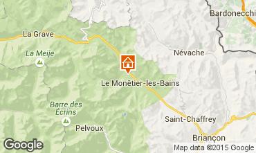 Mapa Serre Chevalier Chalé 2932