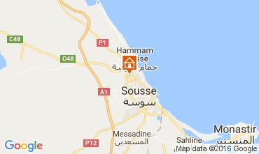 Mapa Sousse Apartamentos 96394