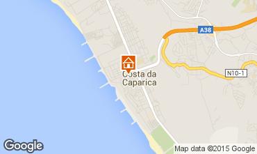 Mapa Costa de Caparica Apartamentos 98378