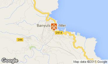 Mapa Banyuls-sur-Mer Apartamentos 88132