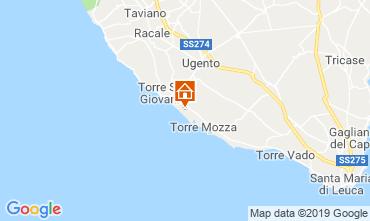 Mapa Ugento - Torre San Giovanni Vivenda 104522