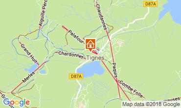Mapa Tignes Apartamentos 115668