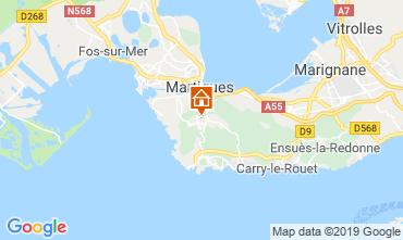Mapa Martigues Casa de turismo rural/Casa de campo 61577
