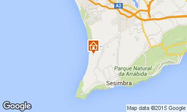 Mapa Lagoa de Albufeira Casa 83370