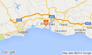 Mapa Praia da Rocha Apartamentos 88924