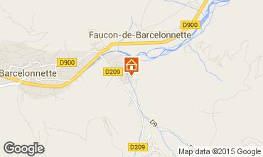 Mapa Barcelonnette Chal� 101952