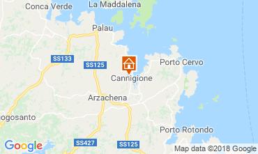 Mapa Cannigione Casa 116432
