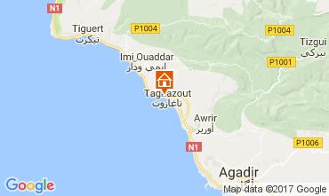 Mapa Agadir Apartamentos 17091