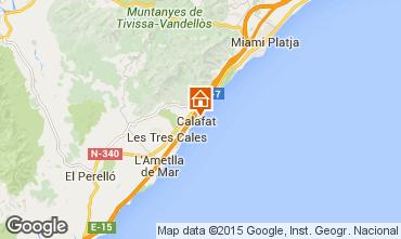 Mapa La Ametlla de Mar Vivenda 82763