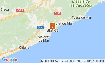 Mapa Blanes Casa 111471