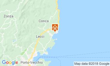 Mapa Ste Lucie de Porto Vecchio Vivenda 112607