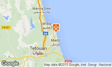 Mapa Cabo Negro Apartamentos 41990