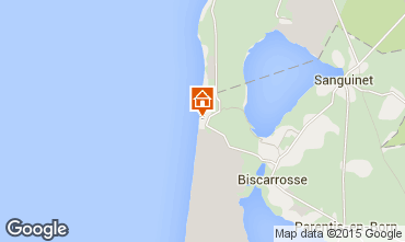 Mapa Biscarrosse Apartamentos 92693
