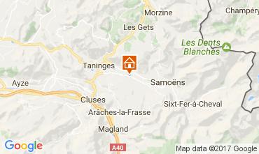 Mapa Morillon Grand Massif Chalé 74243