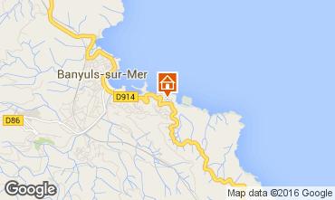 Mapa Banyuls-sur-Mer Casa 94647