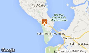 Mapa Dolus d'Oléron Casa 91338