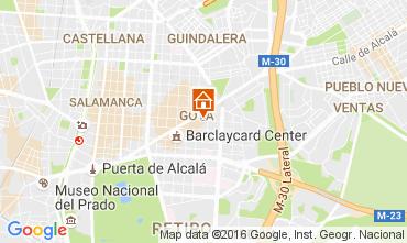 Mapa Madrid Apartamentos 65875